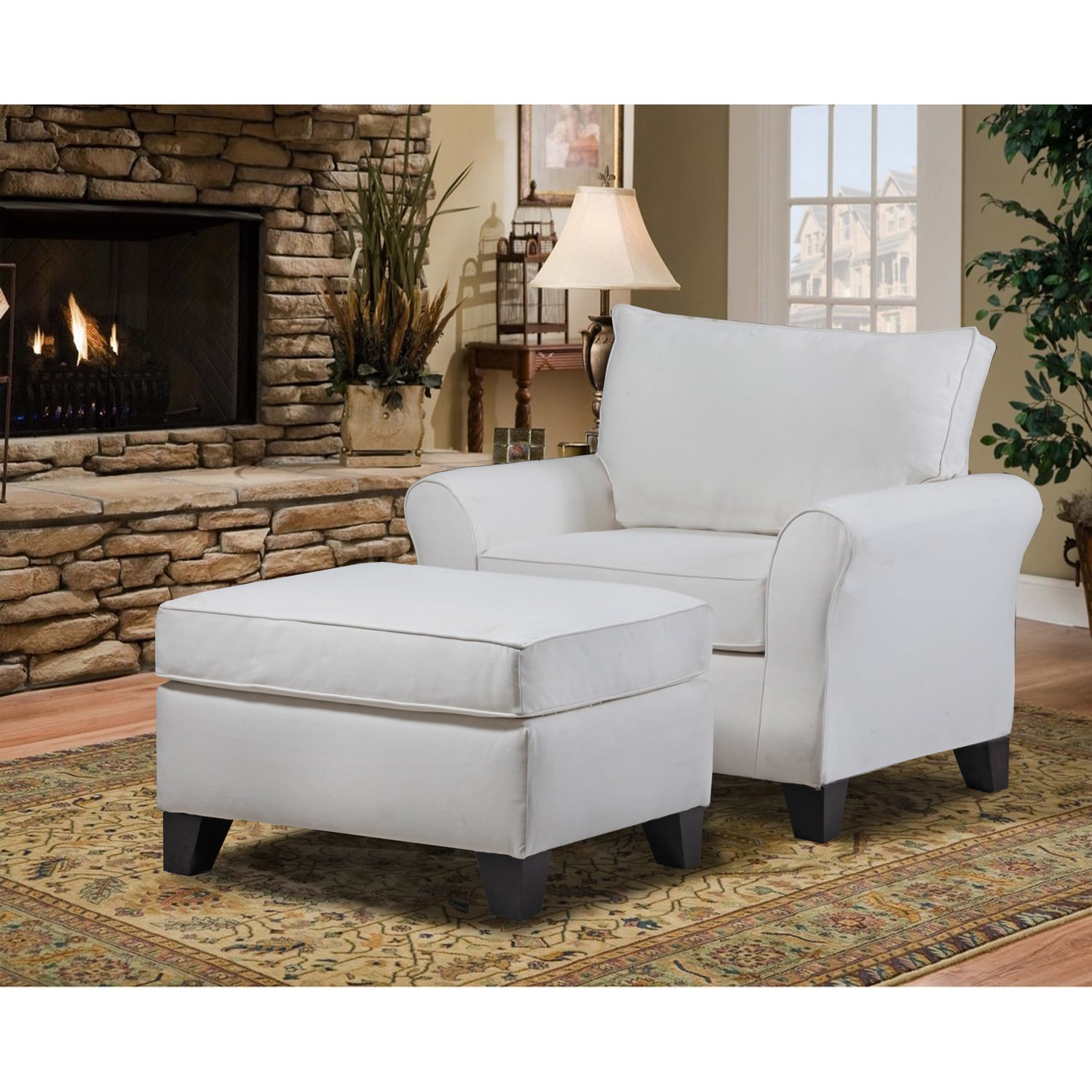Carolina Accents Belle Meade Armchair by Carolina Accents