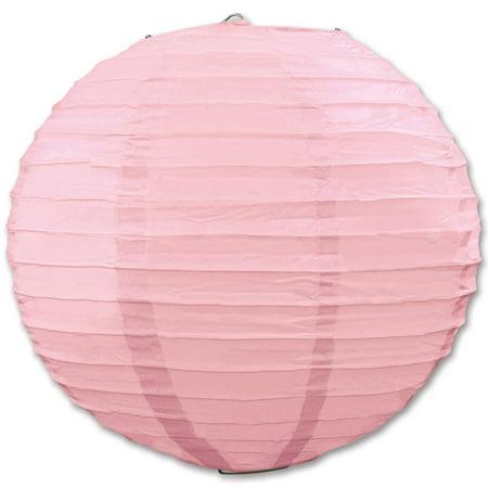 Club Pack of 18 Round Pretty Pink Hanging Paper Lanterns 9.5