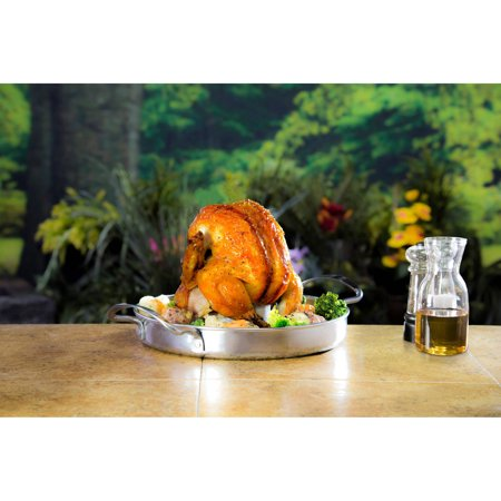 Char Broil Stainless Steel Beer-Can Chicken Roaster