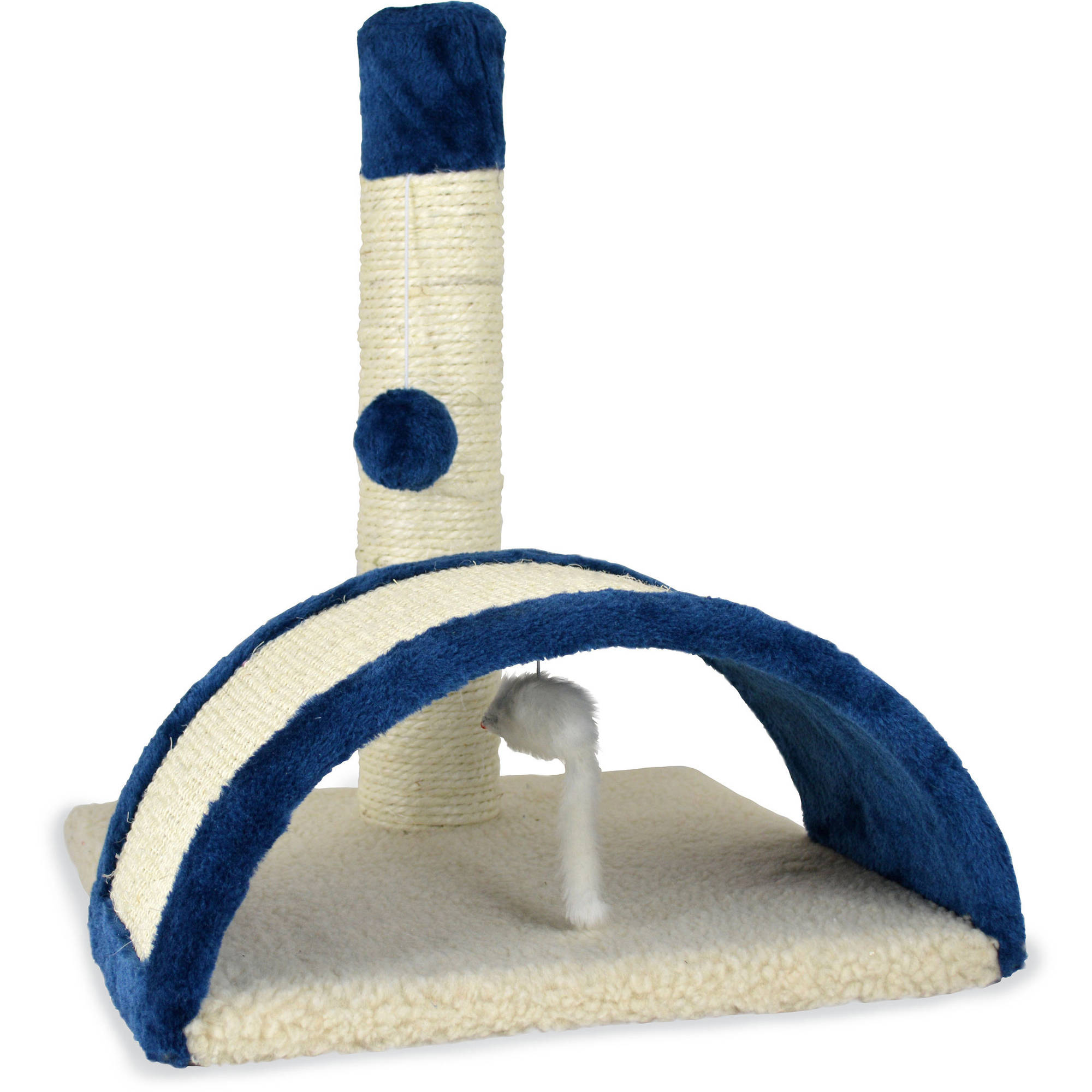 Pet Zone Beam and Bow Scratching Square