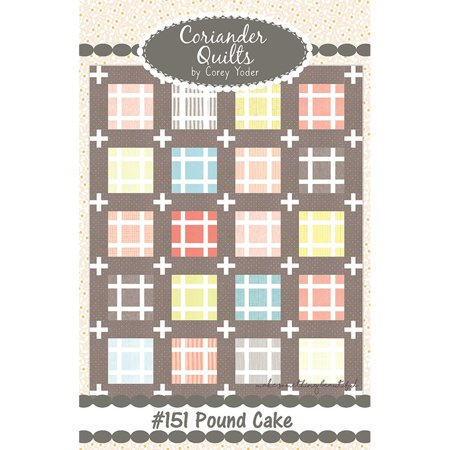 Pound Cake Quilt Pattern by Coriander Quilts ()