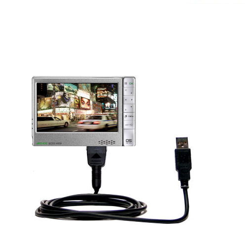 classic straight usb cable suitable for the archos 605 wifi with rh walmart com Archos 605 USB Archos 605 USB