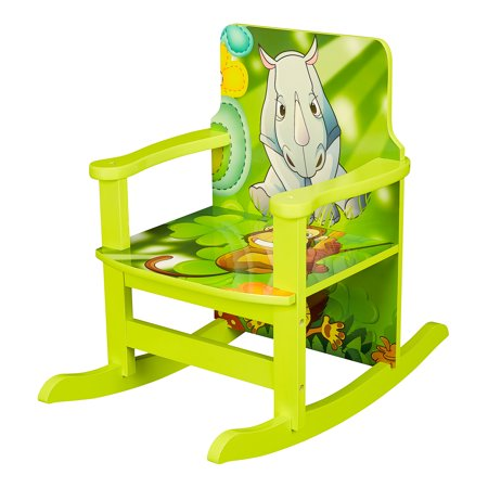Kid's Jungle Reading Rocking Chair, 20.16