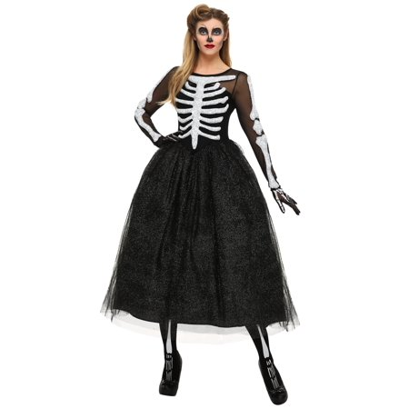 Women's Skeleton Beauty Plus Size Costume - Plus Size Womens Skeleton Costume