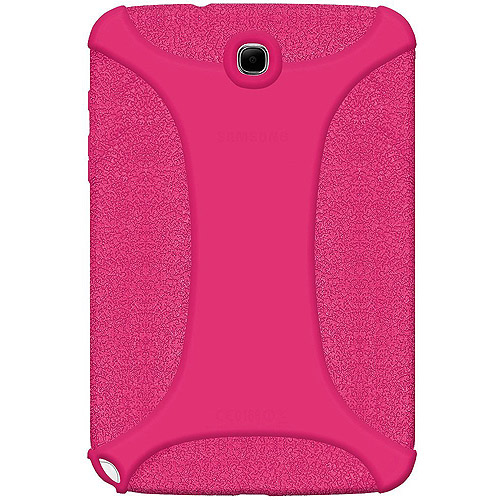 Samsung GALAXY Note 8.0 Case, Rugged Silicone Skin Jelly Slim Protective Heavy Duty Shockproof Case for Samsung GALAXY Note 8.0 GT-N5100 - Hot Pink
