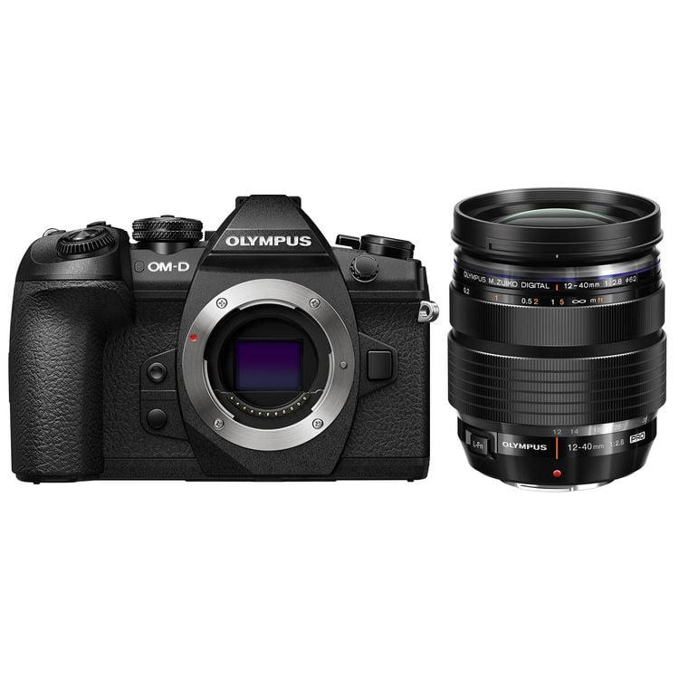 Olympus OM-D E-M1 Mark II Mirrorless Micro Four Thirds Digital Camera (Body) by Olympus