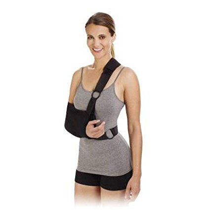 Shoulder Immobilizer Sling Cotton Poly Right/Left, Large 9x18, 1 ea, Shoulder Immobilizer Sling Cotton Poly Right/Left, Large 9x18, 1 ea By Professional Care Products