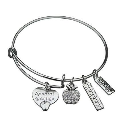 Teacher Gift, Teacher Bracelet, Teacher Jewelry, Perfect Gift for Teachers - Bracelets For Teachers