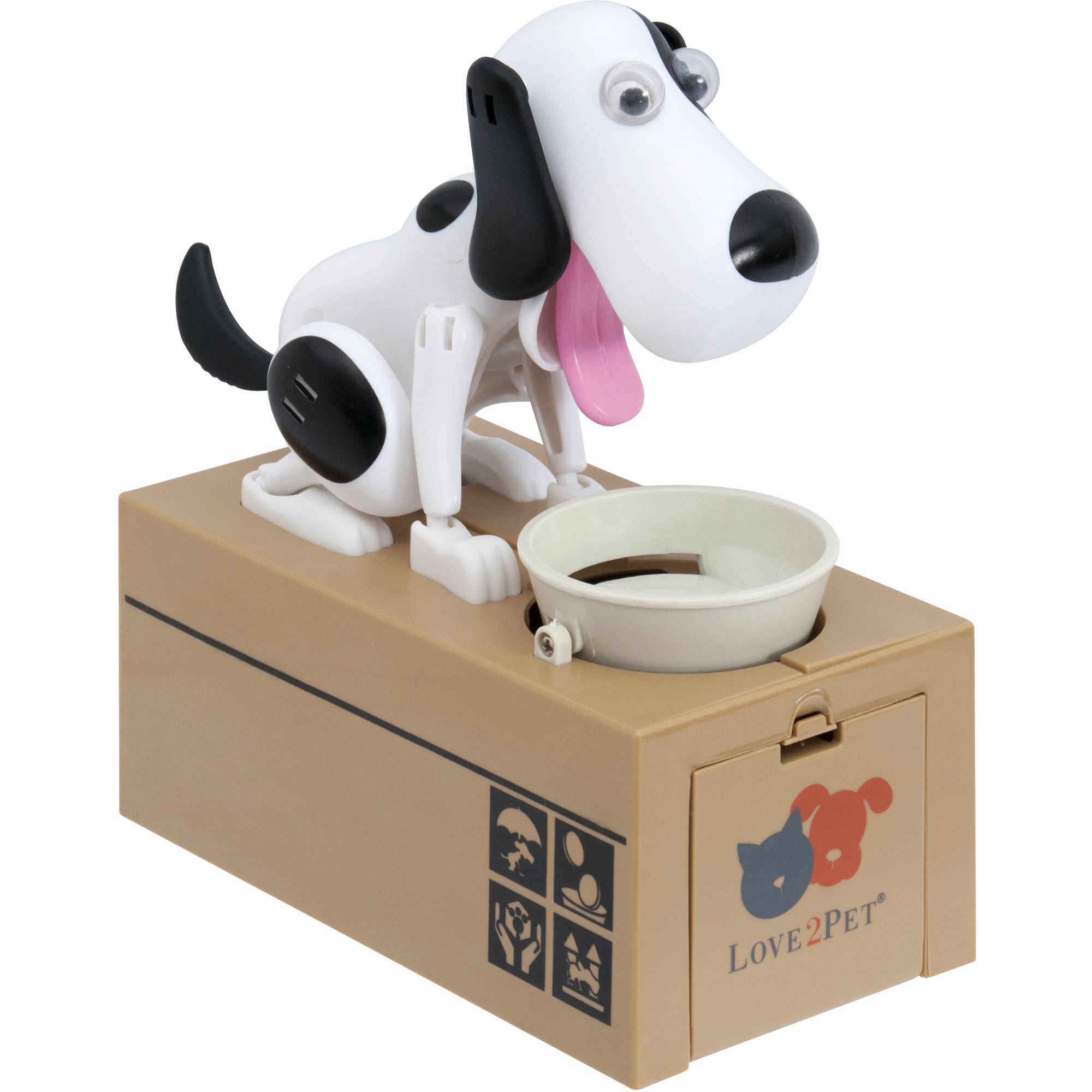 Love2Pet Itazura Cute Puppy Automated Coin Bank