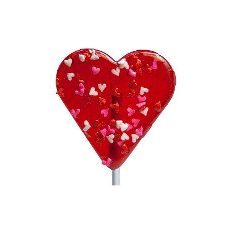 Little Heart Shaped Lollipop: 24 - Heart Lollipop