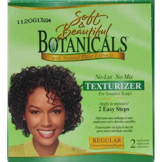 Soft Beautiful Botanicals Regular No Lye No Mix Texturizer