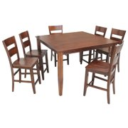 Blairmore Dining Set Counter Height-Finish:Espresso,Quantity:7 Piece