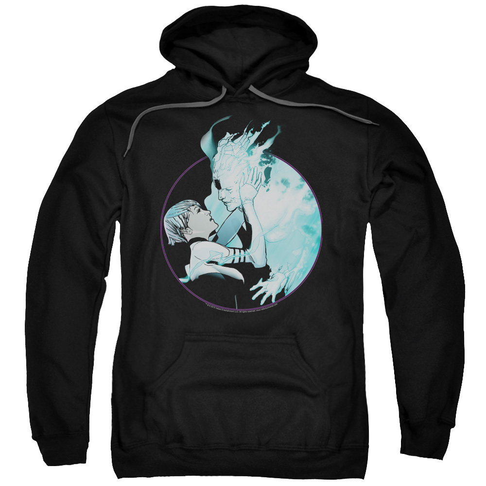 DOCTOR MIRAGE/CIRCLE MIRAGE-ADULT PULL-OVER HOODIE-BLACK-LG