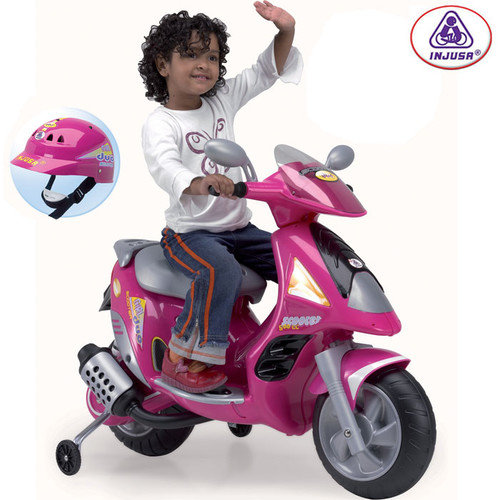 Big Toys Scooter Duo 6V in Pink