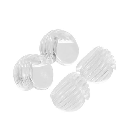 4Pcs/Pack Safety Clear Round Corner Guards Table Corner Cushion Protector for Tables & Furniture & Sharp corners Baby