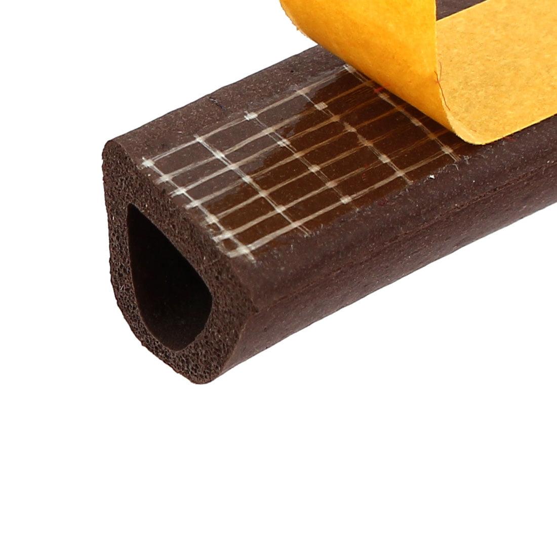 Window Door EPDM Foam Rubber Weatherstrip Seal Strip Brown 14mmx12mmx9.8Ft - image 1 of 3
