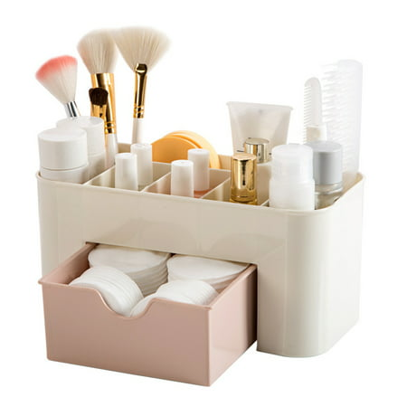 Mini Cosmetics Case Makeup Storage Box Lipstick Small Box Desktop Organizer Jewelry Container Holder