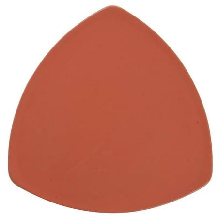 G.E.T Diamond Mardi Gras? Rio Orange Melamine Triangle Plate - 12
