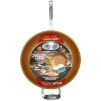 "Gotham Steel Titanium & Ceramic Dishwasher Safe Non-Stick 12.5"" Frying Pan"