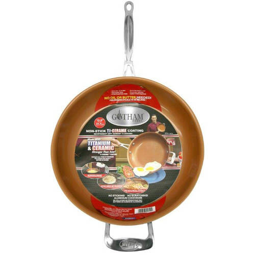 As Seen on TV Gotham Steel Non-stick Fry Pan, 12.5 in