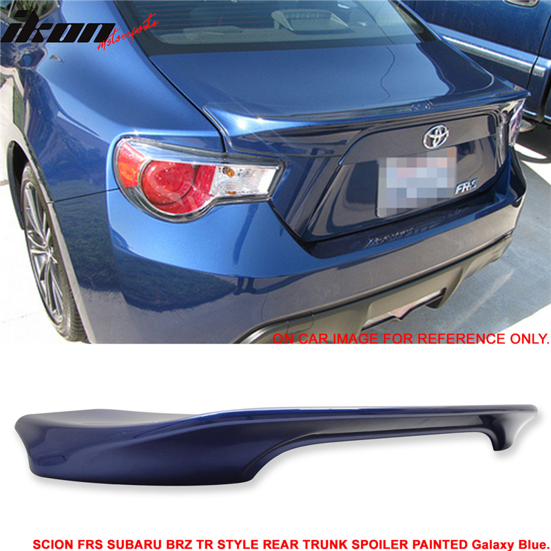 Fits 12-15 Scion FRS GT86 Unpainted Trunk Spoiler Wing - ABS