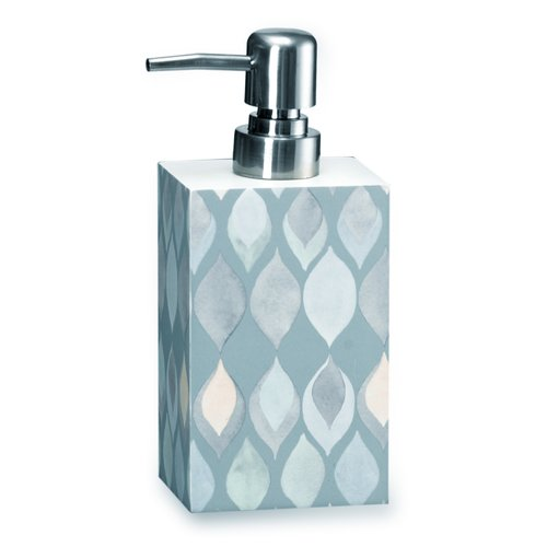 Popular Bath Shell Rummel Sea Glass Lotion Dispenser