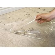 SURFACE SHIELDS Carpet Protection,24 In. x 500 Ft.,Clea CS24500