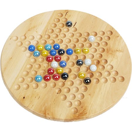 Classic Games Collection Chinese Checkers with Marbles