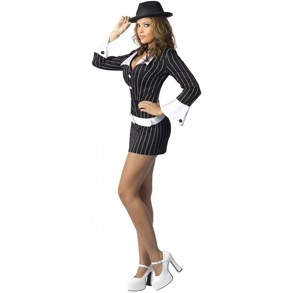 Gangster Moll Adult Costume - Medium/Large