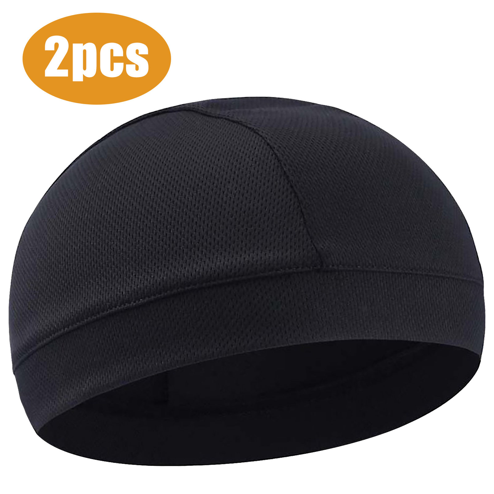 Fashion Men Breathable Beanie Hat Sports Cycling Running Dome Cap Accessories