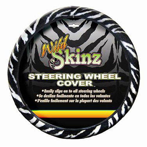 Plasticolor Zebra Steering Wheel Cover