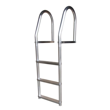 Eco Fixed Dock Ladder, Weld Free Aluminum