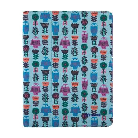 Speck Fitfolio Tablet Case iPad 4 3 2 Owl Pattern Ultraviolet Purple ()