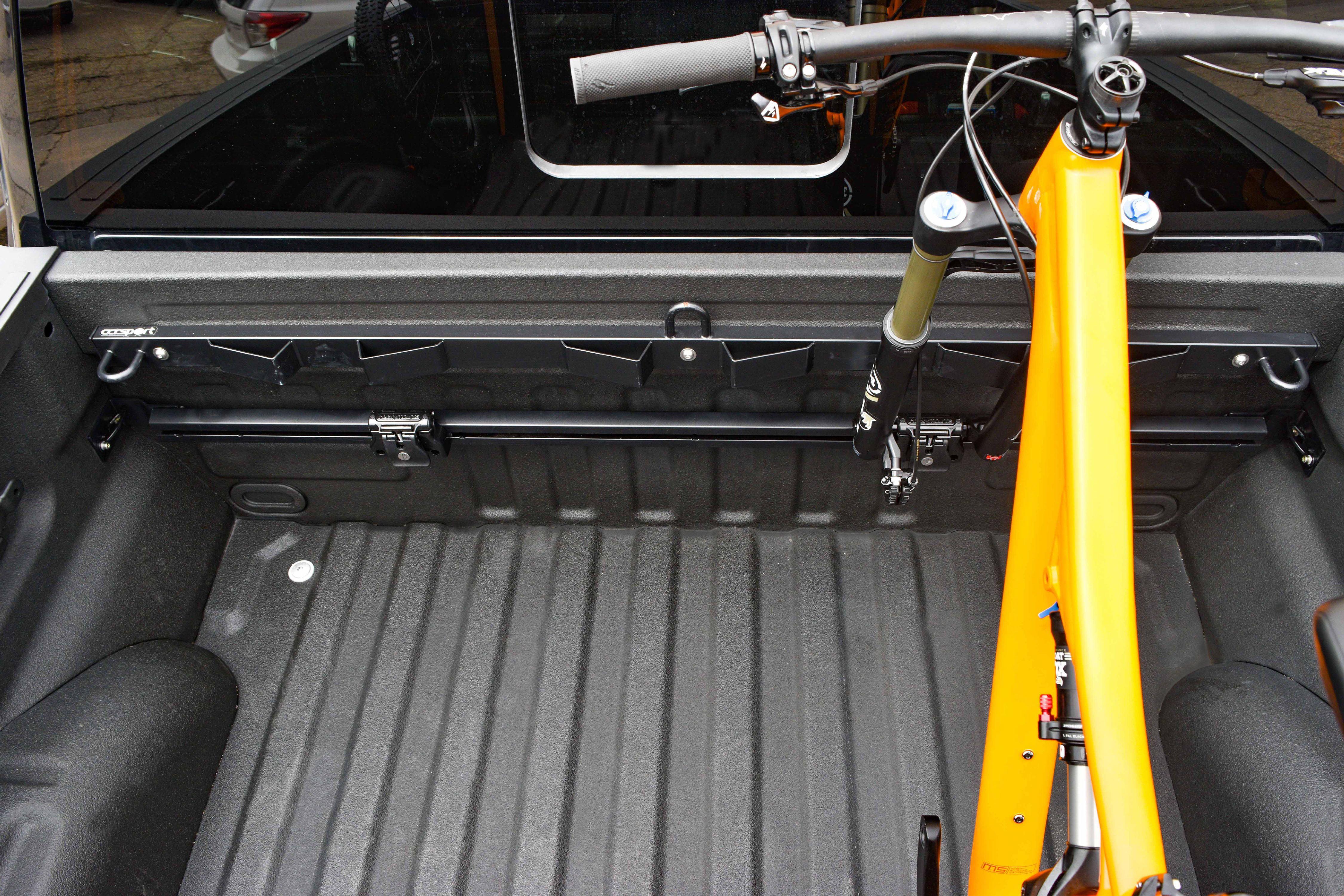 RockyMounts Ford F150 Truck Bed Track System Bike Rack by RockyMounts