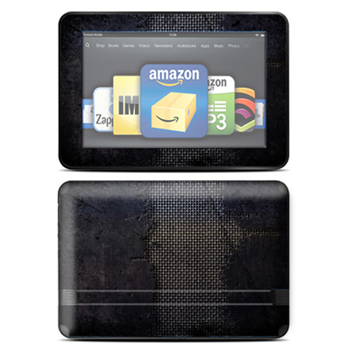 "Mightyskins Protective Skin Decal Cover for Amazon Kindle Fire HD 8.9"" inch Tablet wrap sticker skins Ripped"