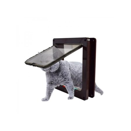 Lavaport Dog Cat Flap Doors with 4 Way Lock Pet Door Wall - Cat Flap Pet Door