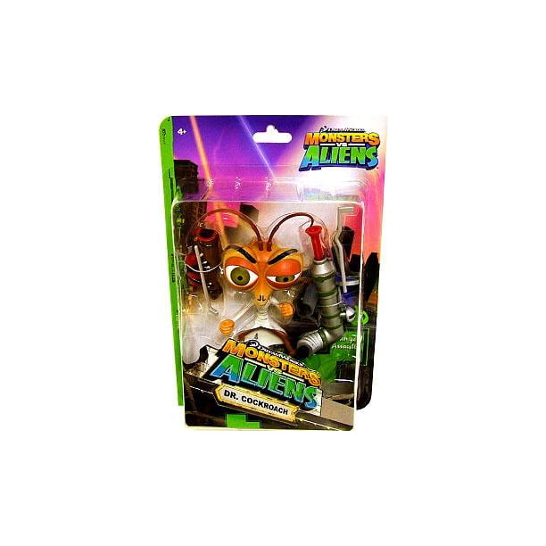 Monsters Vs Aliens Dr Cockroach Action Figure Walmart Com Walmart Com