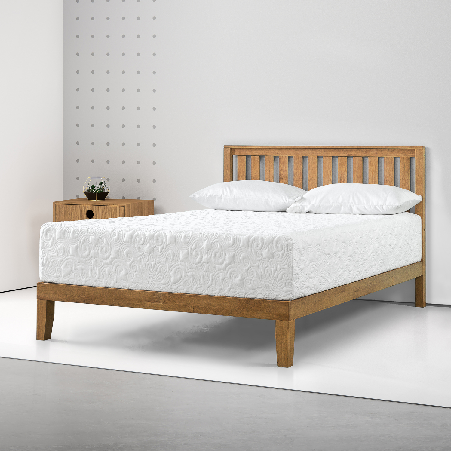 """Spa Sensations by Zinus 12"""" Theratouch Memory Foam Mattress, Multiple Sizes"""