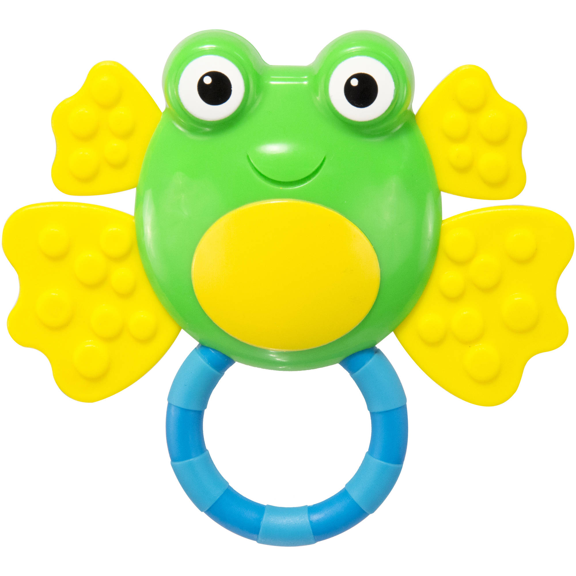 Sassy Grin and Grow Froggie Teething Rattle