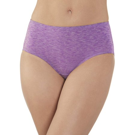 Women's Dream Flex Low-Rise Brief Panties - 4 Pack ()