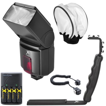 Nikon D90 Kit - SB800 Pro Series Digital DSLR Dedicated Flash Kit For Nikon DF, D90, D3000, D3100, D3200, D3300, D5000, D5100, D5200, D5300, D5500, D7000, D7100, D7200, D300, D300s, D600, D610, D700, D750, D800,...