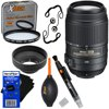 Nikon AF-S DX NIKKOR 55-200mm f/4-5.6G ED VR II Zoom Lens with Auto Focus for Nikon DSLR Cameras + 7pc Accessory Kit w/ HeroFiber Ultra Gentle Cleaning Cloth This kit includes 8 items. Lens includes manufacturer's supplied accessoriesNikon AF-S DX NIKKOR 55-200MM f/4-5.6G ED VR (Vibration Reduction) II Zoom Lens with Auto Focus for Nikon D40, D60, D80, D90, D200, D300, D300S, D500, D3000, D3100, D3200, D3300, D3400, D5000, D5100, D5200, D5300, D5500, D7000, D7100 & D7200 Digital SLR CamerasXtech 52mm UV Protection FilterXtech 3-in-1 Collapsible Design Soft Rubber Lens HoodXtech High Quality 2 in 1 Lens Cleaning PenXtech High Quality Dust Cleaner Blower2 Xtech Universal Lens Cap KeepersHeroFiber® Ultra Gentle Cleaning Cloth