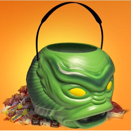 Super Bucket Universal Monsters Creature from the Black Lagoon Halloween Treat Bucket - Cute Halloween Classroom Treats