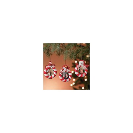 fun express peppermint candy red white striped snowman christmas ...