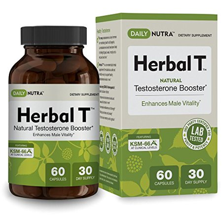 Herbal T testostérone naturelle Booster 60 Capsules