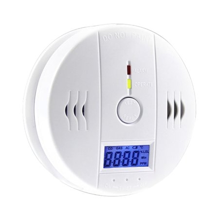 Co Detector Carbon Monoxide Alarm  Carbon Monoxide Detection Lcd Portable Security Gas Co Monitor Battery Powered  Battery Not Included