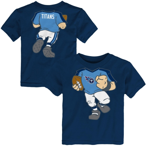 Tennessee Titans Toddler Football Dreams T-Shirt - Navy