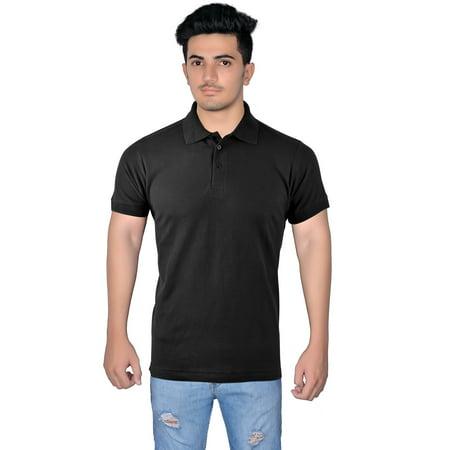 100% Cotton Pique Polo (XTREEMGEAR  Men's 100% Cotton Short Sleeve Pique Polo Shirt)