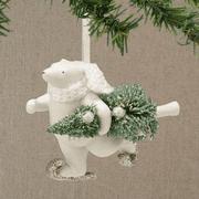Department 56 Snowbabies 4038100 Polar Delivery  Ornament NEW 2014
