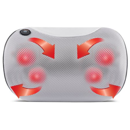 Belmint Shiatsu Pillow Massager with Heat for Back, Neck, and